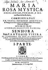 Maria rosa mystica: Volume 1