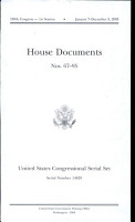 United States Congressional Serial Set  108th Congress  Serial No  14829  House Documents No  67 95 PDF