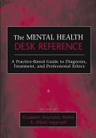 The Mental Health Desk Reference PDF