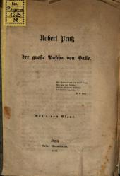 Robert Eduard Prutz, der grosse Pascha von Halle: Von einem Giaur