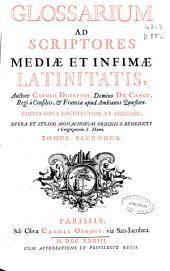 Glossarium ad scriptores mediae et infimae latinitatis: C-D