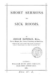 Short Sermons for Sick Rooms