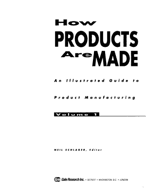 How Products are Made PDF