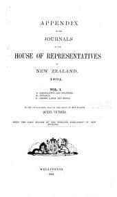 Journal. Appendix