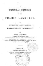 A Practical Grammar of the Arabic Language PDF