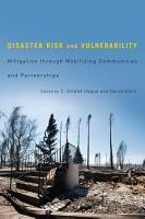 Disaster Risk and Vulnerability PDF
