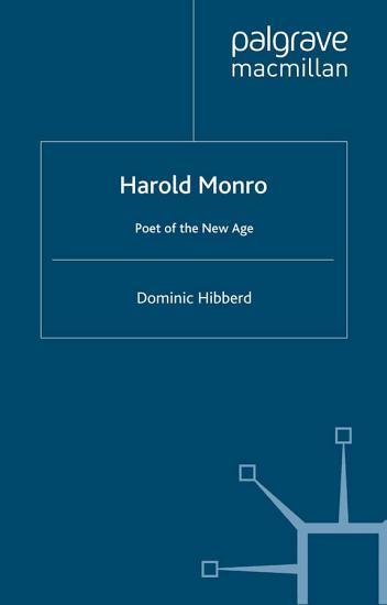 Harold Monro PDF