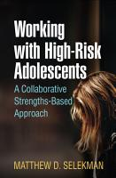 Working with High Risk Adolescents PDF