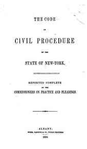 The Code of Civil Procedure of the State of New-York
