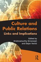 Culture and Public Relations PDF