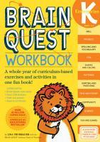 Brain Quest Workbook  Kindergarten PDF