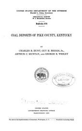 Coal Deposits of Pike County, Kentucky: Issue 876