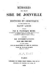 Mémoires de Jean, sire de Joinville ou Histoire et chronique du très-chrétien roi Saint Louis