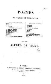 Poëmes antiques et modernes, etc