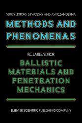 Ballistic Materials And Penetration Mechanics Book PDF