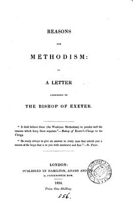 Reasons for Methodism  in a letter PDF