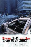 From  9 11  to the  Iraq War 2003  PDF
