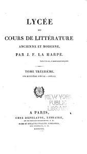 Poésie [suite] Éloquence, histoire et littérature mêlée