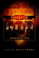 The Character of God PDF