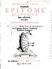Epitome anatomica