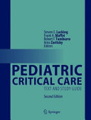 Pediatric Critical Care PDF