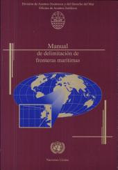 Manual de delimitación de fronteras marítimas