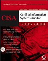 CISA Certified Information Systems Auditor Study Guide PDF