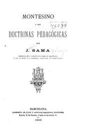 Montesino y sus doctrinas pedagógicas por J. Sama