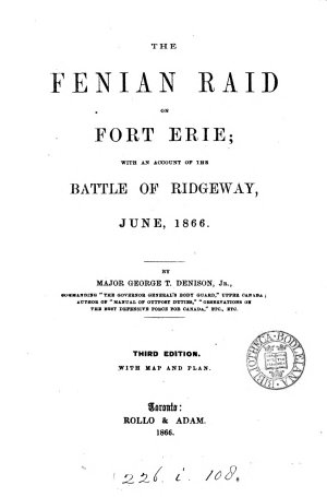 The Fenian Raid of Fort Erie