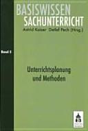 Unterrichtsplanung und Methoden PDF