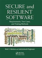 Secure and Resilient Software PDF