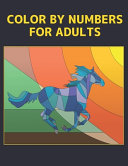 Color By Numbers For Adults Book PDF
