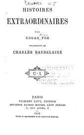 Oeuvres complètes de Charles Baudelaire: Histoires extraordinaires, par Edgar Poe