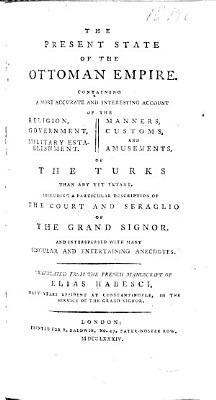 The Present State of the Ottoman Empire PDF