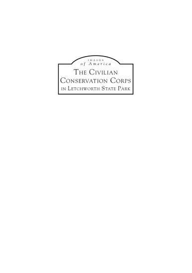 Civilian Conservation Corps in Letchworth State Park  The PDF