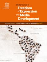 World trends in freedom of expression and media development PDF