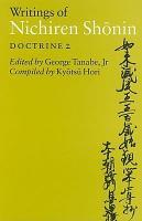 Writings of Nichiren Shonin PDF