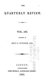 The Quarterly Review: Volumes 136-137; Volume 156