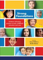 Strong Foundations PDF