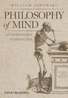 Philosophy of Mind PDF