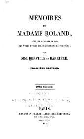 Mémoires de Madame Roland: Volume2
