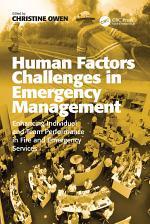 Human Factors Challenges in Emergency Management