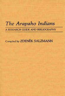 The Arapaho Indians