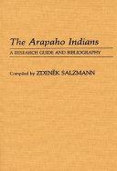 The Arapaho Indians PDF