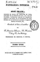 Patología interna: Volumen 18