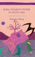 Rural Women   s Power in South Asia  PDF
