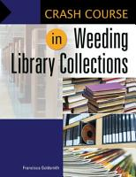 Crash Course in Weeding Library Collections PDF