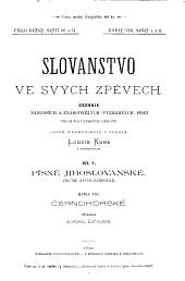 Slovanstvo ve svých zpěvech: sborník národních a znárodnělých (významných) písní všech slovanských národů, Knihy 8–9