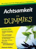 Achtsamkeit f  r Dummies PDF