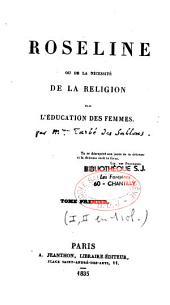Roseline ou de la nécessité de la religion dans l'éducation des femmes